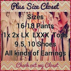 Other - Plus Size closet